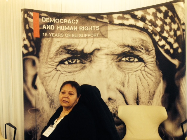 Aunty Gayle Rankine at the 2013 Democracy and Human Rights Conference