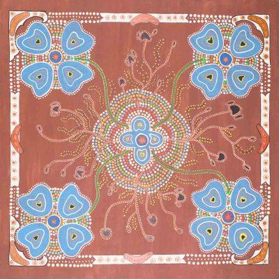 Yarning Circle Dreaming by Aunty Alice Bonny