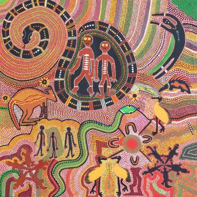 Rainbow Serpents by Eve Kitchener